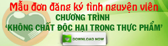 Mẫu đơn đăng ký tình nguyện viên